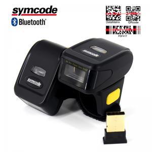 Mini Finger Ring Barcode Scanner Reader Low - Profile Magnesium Trigger