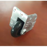 Wholesale Diecast corner castor with 75mm polyurethane wheel. MS-W8675 from china suppliers