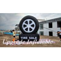 custom hot sale giant advertising inflatable tire balloon for sale