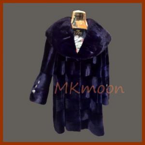 mink fur coat 250#