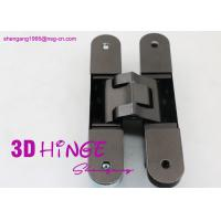 China 3d heavy duty adjustable concealed hinge for heavy internal doors Concealed Door hinges in Satin Nickel finish wholesale