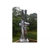 Wholesale Abstract Mirror Stainless Steel Metal Garden Ornaments from china suppliers