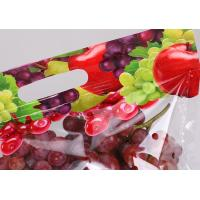PET / PE Material Stand Up Zipper Bags Resealable Pouches For Grocery Store