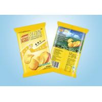 High Strength Printed Laminated Pouches Plastic Packaging Bags For Chips