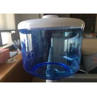 Wholesale Blue Translucent Filtered Water Dispenser , 8L Food Grade Flat PP Water Tank from china suppliers