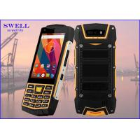 Dual Sim Rugged quad core SmartPhone , outdoor cell phone Rear 5.0MP Camera