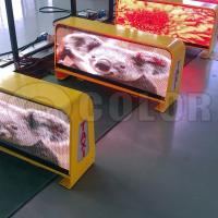 China HD Full Color outdoor LED Display Board P5mm Taxi Sign for Advertising wholesale