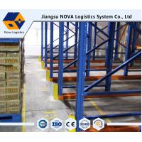Wholesale Heavy Duty Drive In Pallet Racking , NOVA Logistics Equipment from china suppliers