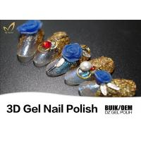 Buy cheap UV LED Modeling 3d Paint Gel Carving Gel Easy Off And Long Lasting OEM from wholesalers