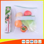 Wholesale Custom Freezer Zip Lock Bags Anti Moisture , Resealable Zipper Food Storage Bags from china suppliers