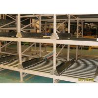 China High Density Light Grey Flow Rack Shelving , Industrial Pallet Racks Heavy Duty wholesale