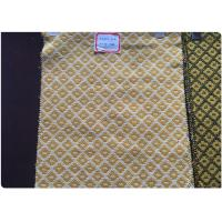 Wholesale Plaid Tweed Jacquard Wool Fabric Yellow White Soft Comfortable In Stock from china suppliers