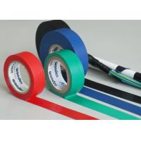 Red / Green High Temp Electrical Tape Wiring Cables For Buildings