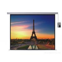 China Wall Mounting Electric Screen EH Series HD Projection Screen With Imported Tubular Motor Lower Noise wholesale