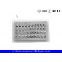 China Rugged Water proof Panel Mount Keyboard Metal , mini keyboard industrial with 40 Keys wholesale