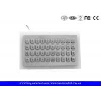China Rugged Water-proof Vandal-proof Metal mini Keyboard with 40 Keys wholesale
