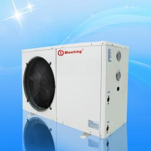 Meeting 12KW EVI Heat Pump Low Temperature Resistance Galvanized Steel Sheet Material