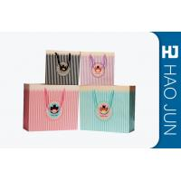 Wholesale Color Printed Cardboard Shopping Bags , Fashional Paper Carry Bags from china suppliers