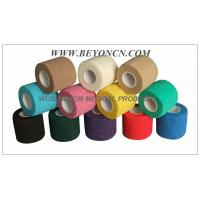 Wholesale Cohesive Bandage, High tensile Colored Elastic Non - Woven Hand Tearable from china suppliers