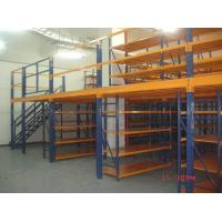 China Removable Attic Mezzanine Racking System Cold Roll Steel Without Any Nuts / Bolts / Tools wholesale
