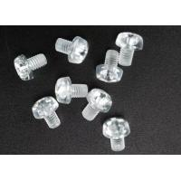 Wholesale Clear Plastic Phillips Round Head Metric Micro Screws For Electronics M3 X 5 from china suppliers