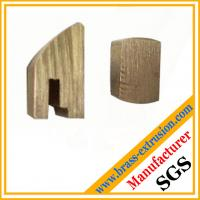 Wholesale lock cylinder copper alloy extrusion profiles sections from china suppliers