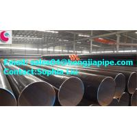 ASTM A795 black steel welded pipes