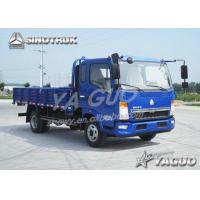 Wholesale HOWO 4x2 ENGINE POWER 109HP, 2.8CBM, LOAD 4TON LIGHT CARGO TRUCK from china suppliers