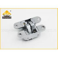 China Commercial Concealed 3 Way 180 Degree Folding Door Hinges 3d Adjustable wholesale