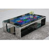 """China 42"""" LCD stand interactive all in one multi touch table kiosk 400 nits 1920x1080 wholesale"""
