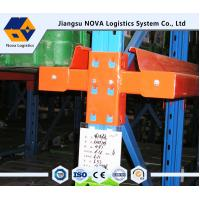 Quality Anti - rust Steel Selective Drive In Pallet Racking System Heavy Duty for sale