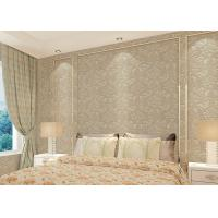 China Contemporary Interior room wallpaper , Bedroom peel and stick paper wall decoration wholesale