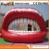 China 5m Long Red Inflatable Big Month Ladies Lip for Advertising Promotion wholesale