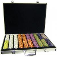 Wholesale poker chips set Model:C1000C from china suppliers