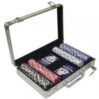 Wholesale poker chips set Model:C202 from china suppliers