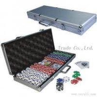 Decoration Tree (27) poker chip with aluminum case
