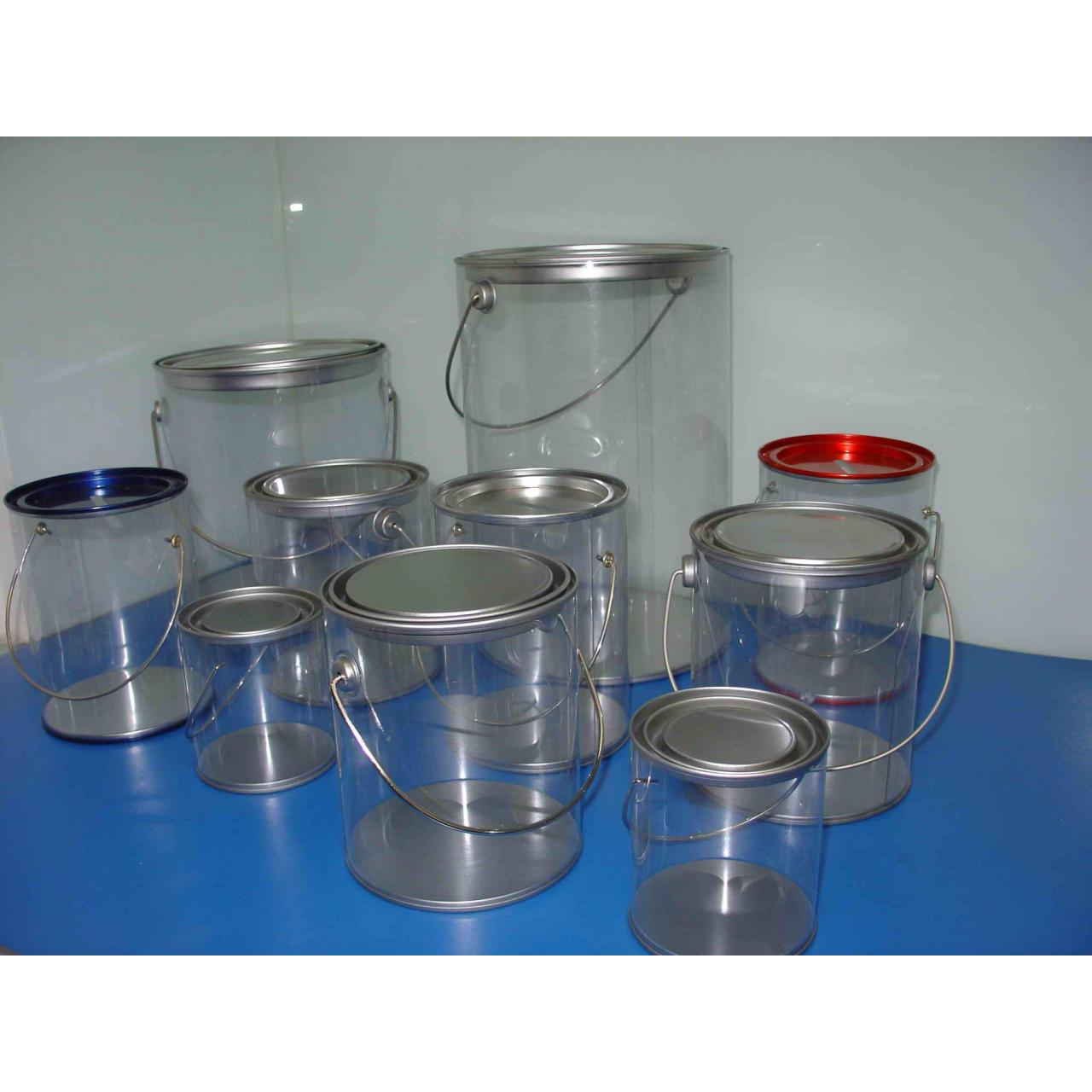 Wholesale Clear Paint Can,PVC Buckets from china suppliers