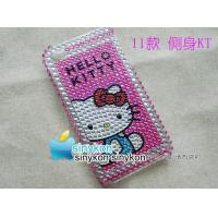 Wholesale wholesale Hand-make Crystal diamond Case Cover For apple iPhone 4&4G from china suppliers