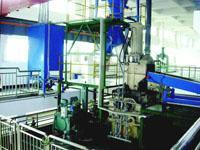 Oil conveying, storage and automatic weighing, injection and clearing