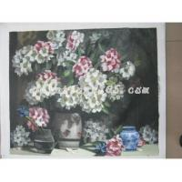 Subject classification Flower oil painting