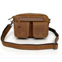 7015B-1 Crazy Horse Leather Fashion Shoulder Messenger Bag