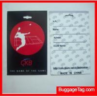 Wholesale Plastic luggage tags from china suppliers