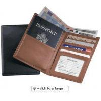China Passport Wallet Leather Cover ID Holder Cases wholesale