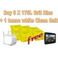 Wholesale Offers with Free Gifts 6x 175 Litre Grit Bins and 1 Tonne White Rock Salt with Free Gift from china suppliers