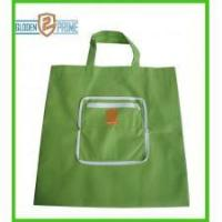 Wholesale Green color PP non woven foldable bag from china suppliers