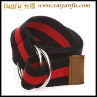 Wholesale Black/red Simple Ladies Webbing Belts from china suppliers
