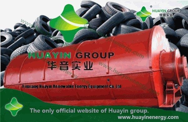 Quality Products Hot sale, HUAYIN waste tyre pyrolysis machine for sale