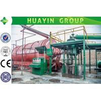 Wholesale High oil yield waste tire pyrolysis plant with no pollution from china suppliers