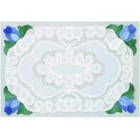 Wholesale Placemats Blue Applique Placemat from china suppliers