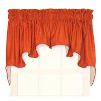 Wholesale Hampton Bay Solid Color Lined Duchess Swags Valance Window Curtain from china suppliers
